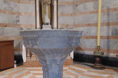 Interno Battistero della Cattedrale - Bergamo