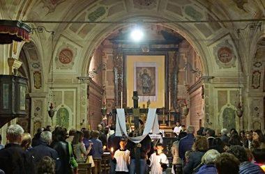 Interno Chiesa San Lorenzo Barzizza Gandino
