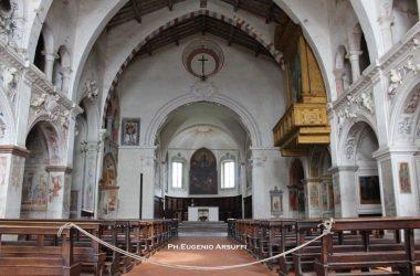 Interno Chiesa Santa Maria della Consolazione- Almenno San Salvatore Bergamo
