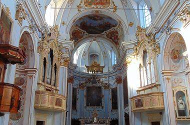 Interno Chiesa di Gandosso
