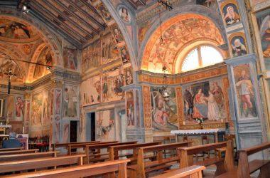 Interno Chiesa di San Bernardino - Lallio