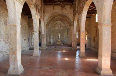 Interno Chiesa di San Giorgio in Lemine- Almenno San Salvatore
