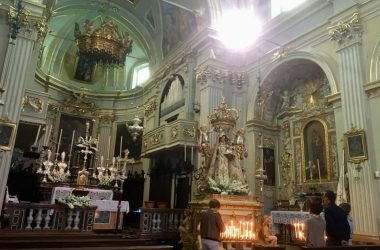 Interno Chiesa di San Giovanni Battista - Fuipiano Valle Imagna