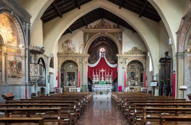 Interno Chiesa di San Nicola - Nembro