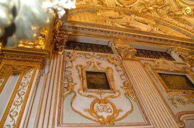 Interno Chiesa di Santa Grata Bergamo città alta