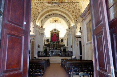 Interno Chiesa ex Monastero di Astino Bergamo
