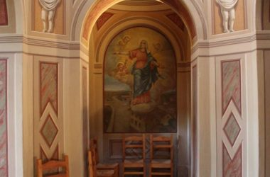 Interno Chiesetta Madonna di Fatima a Marne - Filago