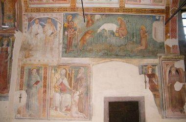 Interno Chiesetta di Santo Stefano - Berzo San Fermo