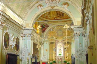 Interno Santuario di Santa Maria del Sasso - Cortenuova