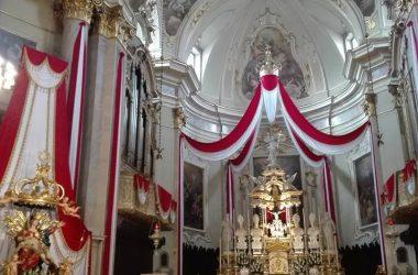 Interno chiesa Parrocchia di Leffe