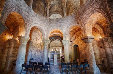 Interno chiesa di San Tomè Almenno San Bartolomeo