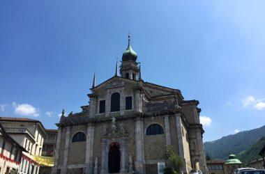 La Basilica a Gandino