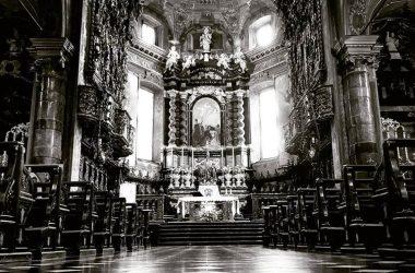La Basilica a Gandino Bergamo