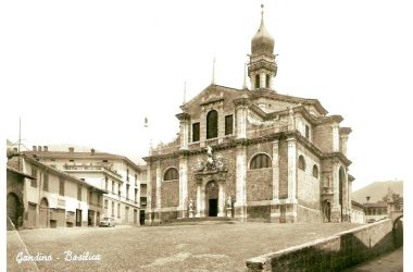 La Basilica immagini storiche Gandino