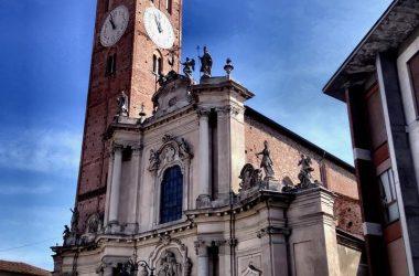 La basilica di San Martino è la chiesa principale della città di Treviglio