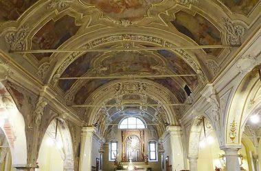 La chiesa Natività di Maria a Gandellino