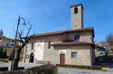 La chiesa di Ascensione - Costa Serina