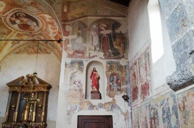 La chiesetta di Ascensione - Costa Serina Bg