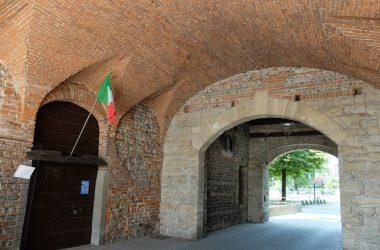 La porta Castello Rocca - Cologno al Serio