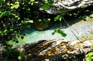 Le cascate in Val Vertova