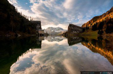 Le rovine della diga del Gleno in Val di Scalve