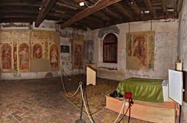Letto di Bartolomeo Colleoni Castello di Malpaga Cavernago