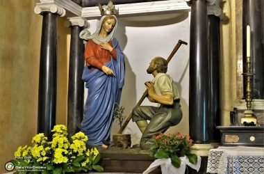 Madonna Apparizione Chiesa Maria della Salute - Selvino