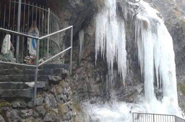 Madonnina di Lourdes Orrido di Bracca Val Brembana
