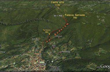 Mappa Falesia Sorisole