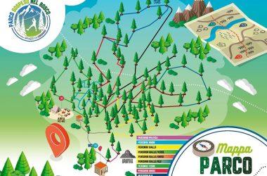 Mappa Parco Sospeso Spiazzi – Gromo