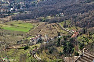 Monastero di Astino vista Bergamo