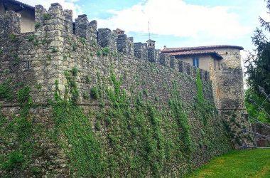 Mura Castello Conti di Calepio - Castelli Calepio