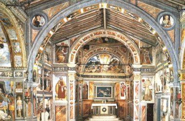 Navata Chiesa di San Bernardino - Lallio Bergamo