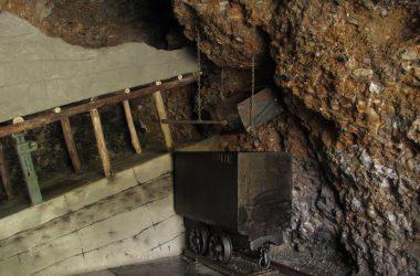 Nembro - Museo della Miniera e dell'Emigrazione Ricostruzione della tramoggia