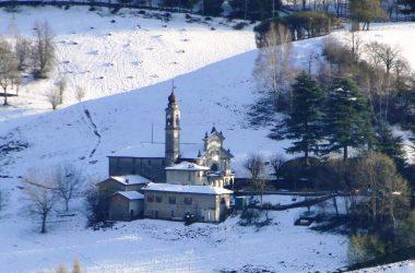 Neve al Santuario Santissima Trinità - Casnigo