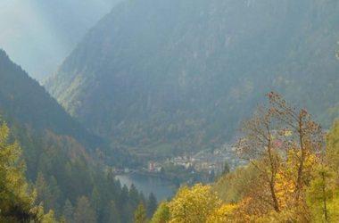 Ottobre..dal borgo di Pagliari Bergamo Valle Brembana Carona lago