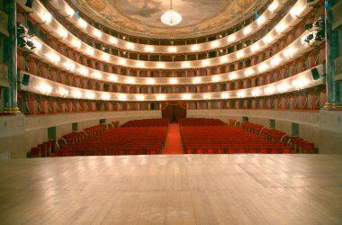 Palco Teatro Donizetti Bergamo