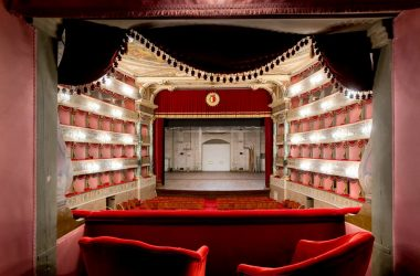 Palco Teatro Gaetano Donizetti Bergamo