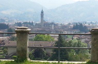 Panorama Chiesa di San Gottardo - Gandino