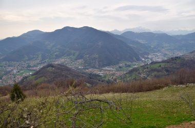 Panorama dalla Chiesetta di Santo Stefano - Berzo San Fermo