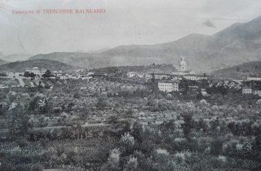 Panorama fine ottocento di Trescore Balneario