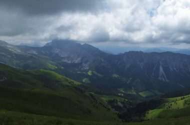Panoramica con Presolana e Bares