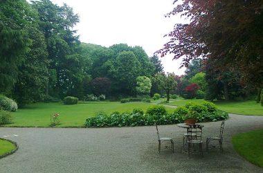 Parco di villa Allegreni Martinengo Bg