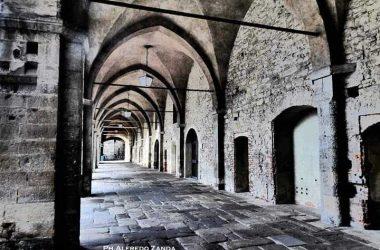 Piazza Cittadella in città alta - Bergamo
