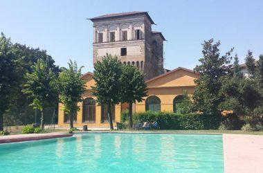Piscina esterna Palazzo Barbò - Torre Pallavicina