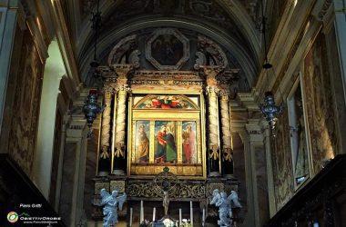 Polittico della Visitazione Santuario della Madonna del Frassino Oneta Bergamo