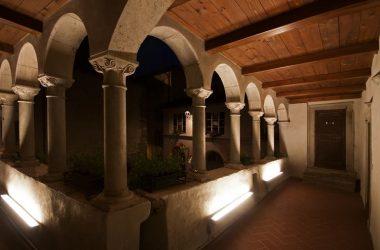 Porticato Palazzo Milesi Gromo