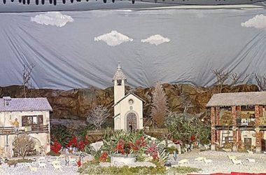 Presepio Santuario della madonna della Scopa - Osio Sopra