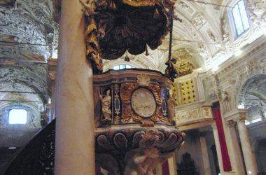 Pulpito Andrea Fantoni Basilica di San Martino - Alzano Lombardo