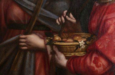 Quadro Moroni Chiesa di San Martino - Cenate Sotto